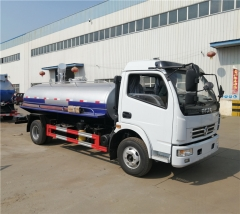 CLW Dongfeng EQ1090 6000liters Sewage Suction Truck 120hp Euro III diesel engine Fecal Suction Truck